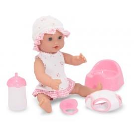 Melissa & Doug - Papusa bebelus Annie cu olita