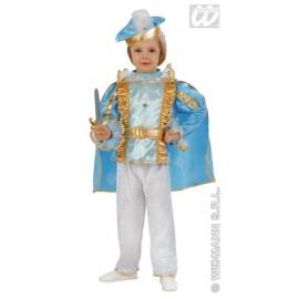Costum carnaval copii Micul Print Albastru