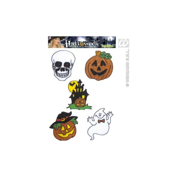 Decor Halloween - Sticker geam refolosibil