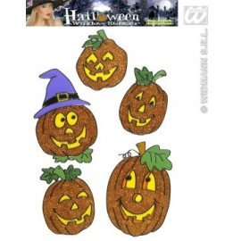 Decor Halloween Sticker geam dovleac