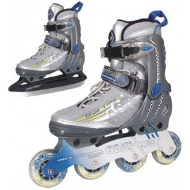 WORKER - Patine BLUE LINE 2 in 1