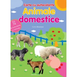 Animale domestice - carte cu autocolante
