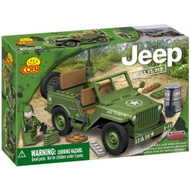 Cobi - Small Army - JEEP Willys MB verde