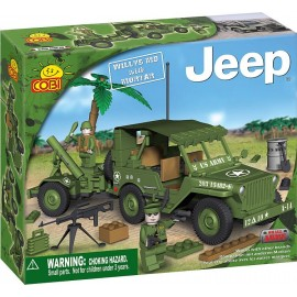 Cobi - Small Army - JEEP Willys MB cu mortier