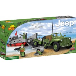 Cobi - Small Army - JEEP and Landing craft