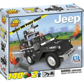 Cobi - Police - Willys MB Swat
