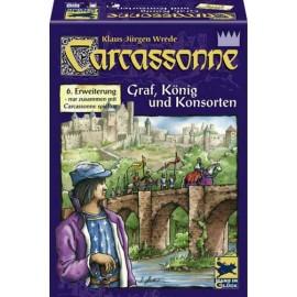 Carcassonne: contele, regele şi ceilalţi (Extensia VI)