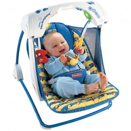 Fisher Price - Leagan interactiv portabil