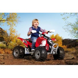 Peg Perego - Atv Polaris Outlaw Red