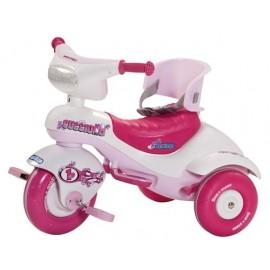 Peg Perego - Tricicleta Cucciolo Pink