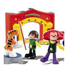 Piccoli Mondi - Super Circus - Set de joaca cu figurine