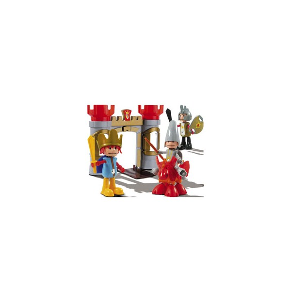 Piccoli Mondi - Wizard and Dragon - Set de joaca cu figurine