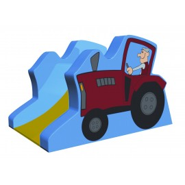 Soft Play - Tobogan Tractor