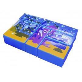 Soft Play - Bloc puzzle Ocean