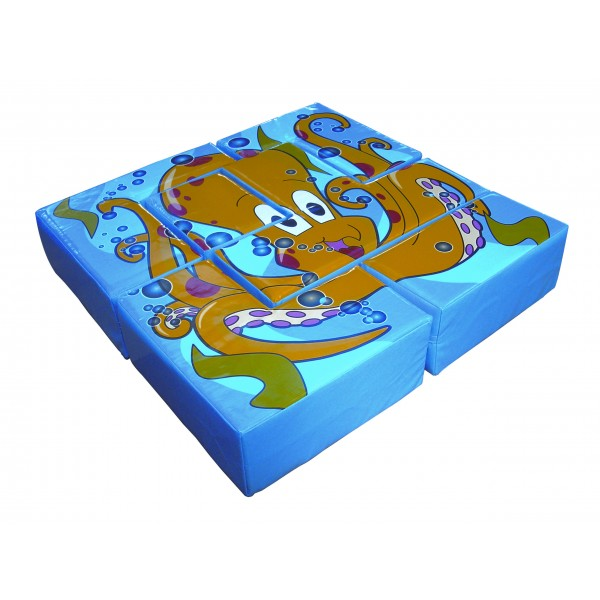 Soft Play - Puzzle Caracatita