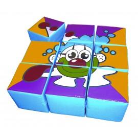 Soft Play - Bloc Puzzle Circ 1 imagine