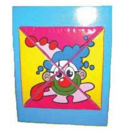 Soft Play - Puzzle de perete Clovn (exc. panoul de perete)