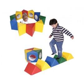 Soft Play - Oglinda pentagonala cu multi-activitati (Oglinda flexibila)