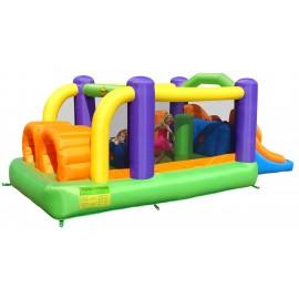 Happy Hop - Spatiu De Joaca Gonflabil Pentru Sarit - Obstacole Course imagine