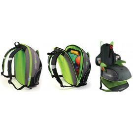 Trunki - Rucsac Boosta pack (negru cu verde)