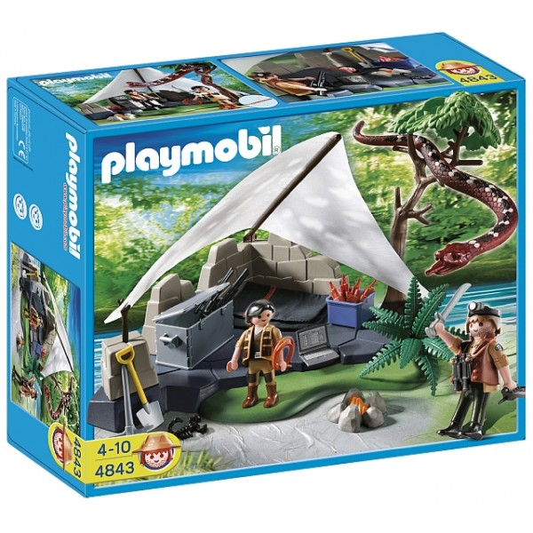Playmobil Treasure Hunters - Tabara cautatorilor de comori
