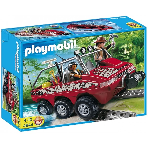 Playmobil Treasure Hunters - Masina amfibie