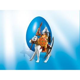 Playmobil Easter Eggs - Razboinic mongol calare