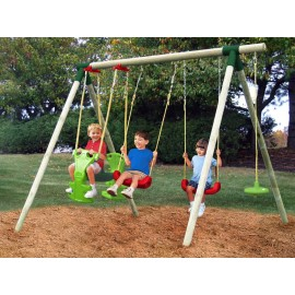 Leagan 4 in 1 ( Stockholm Wood Swing set ) - Little Tikes