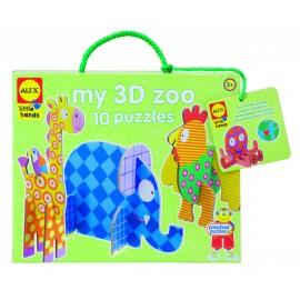 Alex Toys - Gradina mea zoologica 3D