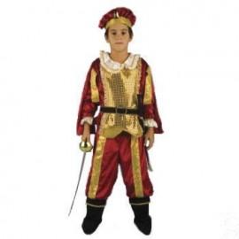 Costum - Print Cavaler Rosu 7-10 ani