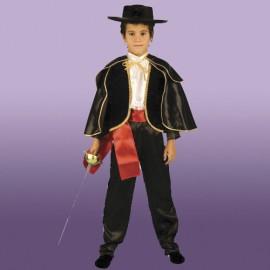 Costum copii ZORRO 7-10 ani