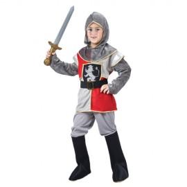 Costum carnaval copii CAVALER [medieval] cu armura de zale 4-6ani