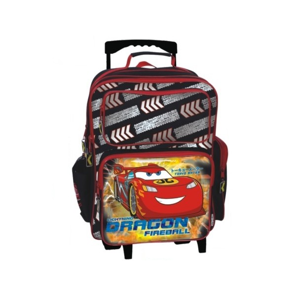 Troler copii Cars McQueen Dragon Fireball