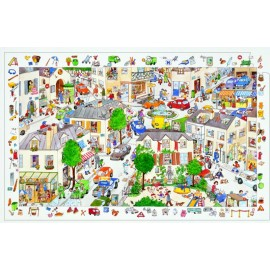 Puzzle 100 piese - Orasul