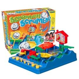 Joc interactiv Labirintul nastrusnic - Screwball Scramble