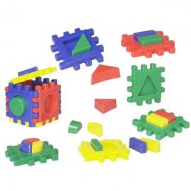Joc de creatie - Blocuri Multicolore