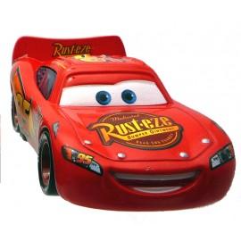 Disney Cars 2 - Lightning McQueen cu roti de curse Rusteze