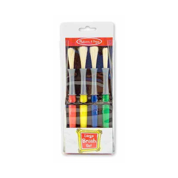 Melissa & Doug - Set 4 pensule groase