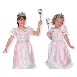 Melissa & Doug - Costum de carnaval (jocuri de rol) Printesa