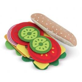 Melissa & Doug - Set de joaca Sandwich