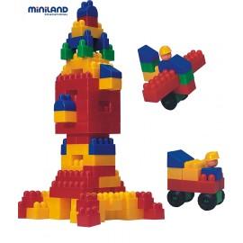 Miniland - Joc de constructii Caramizi 300