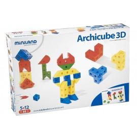 Miniland - Joc De Constructie Arhicube 3d imagine