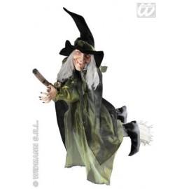 Decor Halloween - Vrajitoare cu matura