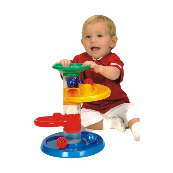 jucarie cursa cu bile pentru bebelusi miniland. Black Bedroom Furniture Sets. Home Design Ideas