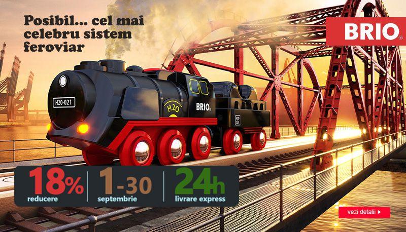 Trenulete BRIO
