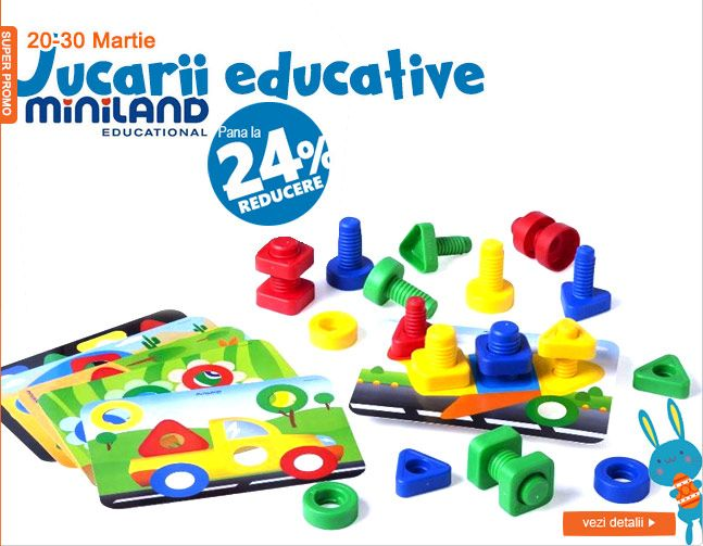 Jucarii educationale Miniland